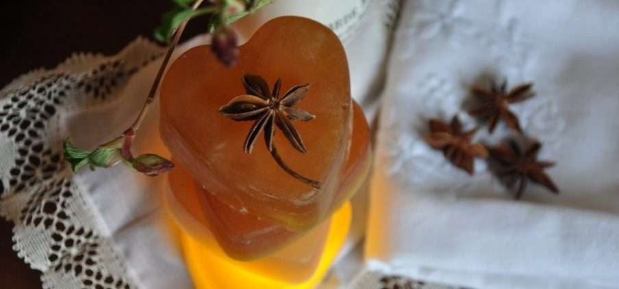 GlowRevival frankincense and turmeric soap