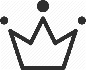 icon of stylized crown