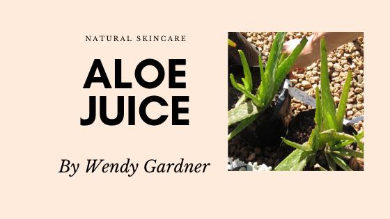 Aloe barbadensis leaf juice