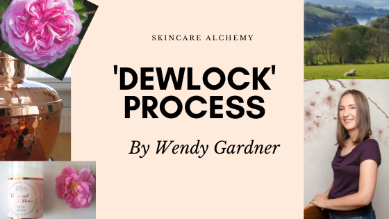 dewlock skincare extracts by Wendy Gardner